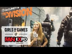 Fans React To Tom Clancy's The Division Demo At Fan Expo 2015 | Girls on Games