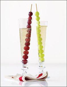 Para las uvas de Nochevieja!