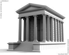Tempio di Portuno, Roma, Foro Boario | by Luca Rossi
