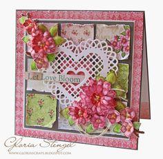Heartfelt Creations Wednesday - Patchwork Heart