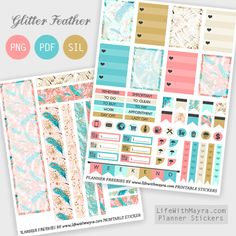 Printable Planner Stickers by lifewithmayra on DeviantArt To Do Planner, Free Planner, Planner Pages, Happy Planner, Planner Ideas, Planner Diy, Freebies, Printable Planner Stickers, Free Printables
