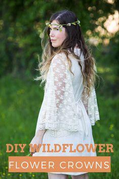 diy wildflower flowe