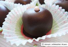 Marcipános - fahéjas trüffel Rum Balls, Pudding, Food, Candy, Chocolate, Custard Pudding, Essen, Puddings, Meals