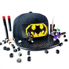 Everything is awesooommme about this hat!   Brick Brick Gear Toddler Snapback Hat