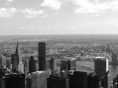 Do alto do Empire State Building - NYC