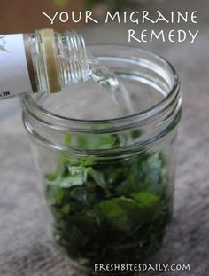 Your new migraine remedy: A simple and inexpensive herbal tincture