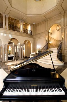 Every dream house, needs a dream piano.