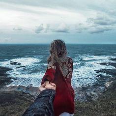 """Murad Osmann on Instagram: """"#followmeto Normandy with @natalyosmann. 14 января - сегодня выходит в прокат наш фильм """"Холодный Фронт"""", на съёмках которого мы сделали эту фотографию! """""""