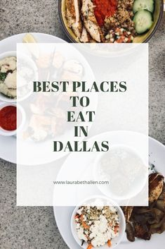 Best Places to Eat in Dallas! BBQ, Mediterranean & more! Dallas Bbq, Dallas Food, Dallas City, Dallas Texas, Austin Texas, Dallas Restaurants Best, Dallas Attractions, Dallas Things To Do, Texas Things
