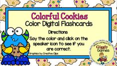 This interactive internet resource makes a fun and educational way to learn or review colors. This activity is played in preview mode. The student says the correct color and then clicks on the speaker icon to hear if they are correct. The game is entertaining, encouraging, and self-checking. Make su... Differentiated Instruction, Folder Games, Early Childhood Education, Learning Centers, Social Studies, Google, Encouragement, Self, Internet