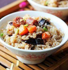 用电锅做的7道焖饭,简单不失美味!