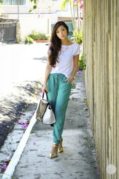 Styling with Green