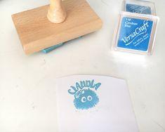 Sellos personalizados para niños, hecho a mano por Sweet Carving