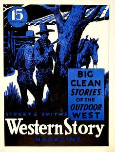 'Western Story Magazine' poster
