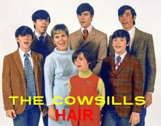 The Cowsills - Hair ( 1969 ).