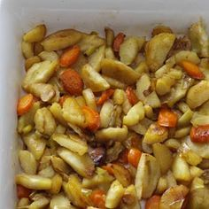 Agave Roasted Parsnips    Deliciously sweet and aromatic, this side dish nicely spices up any winter meal.