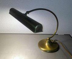 Online Veilinghuis Catawiki Prachtige Oude Zware Messing Koperen Bankierslamp Notaris Lamp