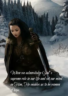 When we acknowledge God's supreme role in our life and set our mind on Him, He enables us to be women of hope. Thank You Father. You are first in my life. I put my trust in You. You are my hope. Christian Warrior, Christian Women, Christian Quotes, Warrior Quotes, Prayer Warrior, Women Of Faith, Faith In God, Bride Of Christ, Bible Verses Quotes