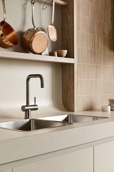 Interior Desing, Interior Design Kitchen, Interior Inspiration, Interior Architecture, Kennedy Nolan, Basic Kitchen, Minimal Design, Soft Furnishings, Home And Living