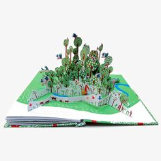 In The Forest pop-up book | An extraordinary pop-up book which explores the world of our disappearing rain forests. | Moon Picnic