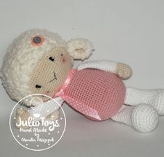 Spring Sheep crochet pattern  This is a crochet pattern PDF - NOT the actual finished doll at the photos! The pattern is available in ENGLI...
