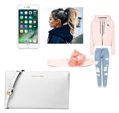 """Nike✨👅💖"" by pettyallthe on Polyvore featuring Topshop, NIKE, Puma and Michael Kors"