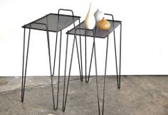 Atomic Mid Century Side Tables