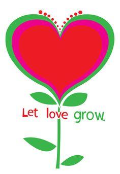 Let love grow, strawberry luna