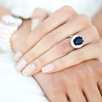 S Thanks To Kate Middleton Milky Fingertips Are Still Extremely Por With Brides Wedding Day Nailswedding