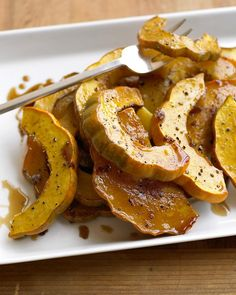 I absolutely LOVE roasted vegetables. They are so easy and hands off. I've never had acorn squash, but I think this is on the menu for next week.