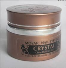Crystal Builder Gel Crystal clear, medium viscosity self-leveling builder gel. Very high gloss shine. Will not yellow. Minimal exothermic reaction. Bonder, builder and top gel in one. Suitable for strengthening, extensions, overlay. Can be pinched between 8-20 seconds. Cure 2 mins in 36Wat UV lamp or 30 secs  in LED lamp. Available in 5ml / 15ml / 50ml