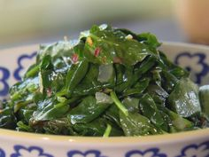 Sauteed Spinach with Bacon and Onions Recipe : Ree Drummond : Food Network - FoodNetwork.com