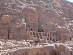 The Royal Tombs -Petra, Jordan Petra, Mount Rushmore, Grand Canyon, Egypt, Explore, Mountains, Nature, Travel, Buildings