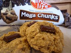 Banana oatmeal mega chunk cookies.  I wonder if these NEED the sorghum flour, potato startch and tapioca startch...anyone know?