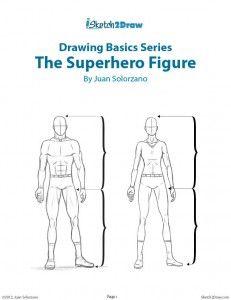 Drawing the Male & Female Superhero