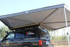 LR AWNING Vehicle Wing Awning Color Normal color: Coffee/Beige/Grey/Green Other color can be provide if needed Fabric Car Tent, Tent Awning, Roof Top Tent, Jeep Xj, Jeep Truck, Truck Camper, Trampoline Tent, Car Awnings, Custom Camper Vans