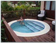 Home Designs: Small Inground Swimming Pools For Trends And Yards Pictures Small Inground Pools For Small Yards