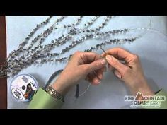 Video Tutorial - Crochet with Wire: The Chain Stitch - Fire Mountain Gems and Beads Crochet Chain Stitch, Crochet Rings, Wire Crochet, Crochet Bracelet, Wire Jewelry Patterns, Wire Tutorials, Wire Weaving, Beads And Wire, Making Ideas