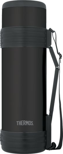 Vacuum Insulated 61 oz Matte Black Beverage Bottle | Thermos®