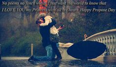 Happy Propose Day 2017 HD Images Kissing In The Rain, Couple Kissing, Surprise Proposal, Proposal Ideas, Proposal Photos, Proposal Ring, Romantic Photos, Romantic Proposal, Perfect Proposal