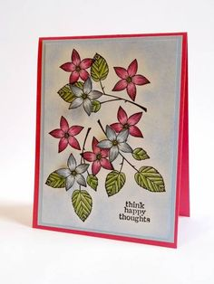 CC261, For Lindsay... by Luv Flowers - Cards and Paper Crafts at Splitcoaststampers