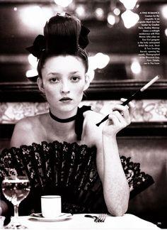 Audrey by Arthur Elgort Styled by Grace Coddington