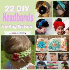 Jazz up your hair with these free crochet headband patterns. You'll love how cute you'll look!