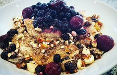 Today i had my all time best breakfast. Spelt semolina porridge mountain with fruit nuts dates berries flaxseed and coconut blossom sugar. #vegan #veganwerdenwaslosdigga #vegansofig #veganism #wslf #whatsveganseat #grasundsteine #hclf #highcarblowfat #vegangermany #fucklowcarb #veganfoodshare #veganfood #veganfortheanimals #veganforlife #proteinmangelundmuskelschwund #wheredoyougetyourprotein #noneedformeat #meatfree #dairyfree #lowcarb #paleo by marc_spenner