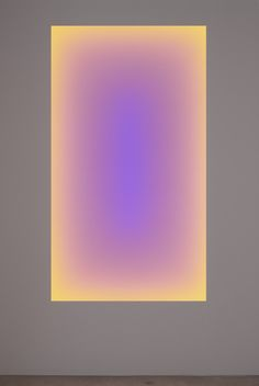 James Turrell - i have seen his work at Yorkshire Sculpture Park - it is phenomenal