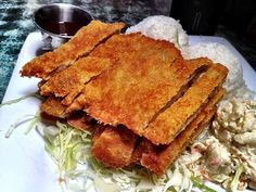 Five Must-Try Meals on Maui - It is decidedly simple, but hearty and filling – the classic definition of a family meal. Katsu is made by frying a scallopini chicken breast or pork cutlet, similar to a schnitzel, and is served with a tonkatsu sauce.