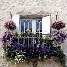 #flowers on the balcony...