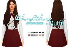 Why Why Outfit - The Sims 4 Outfit Hey guys! Today we bring you an outfit inspired by Shannon Williams song from 2015 'Why Why' This outfit was just super cute so we had to make it in The Sims 4! We...