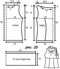 платье с американской проймой выкройка - Поиск в Google