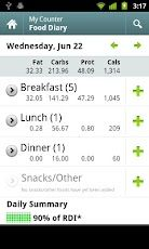 Calorie Counter by Fatsecret. I love this App for my smart phone! It has a great food diary, which is super helpful when you want to lose weight. I tracked my eating and exercise with it a year ago and it helped me lose 30lbs in 3 months. Now I'm using it again!!